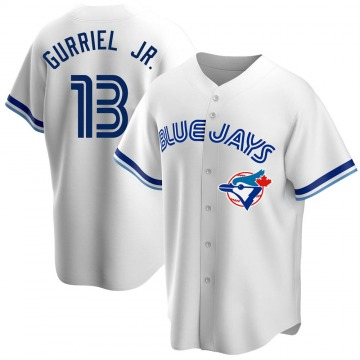 Men's Lourdes Gurriel Jr. Toronto Blue Jays Replica White Home Cooperstown Collection Jersey